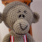 Maddock the hand crocheted Monkey - unisex, washable, OOAK by CuddleCorner
