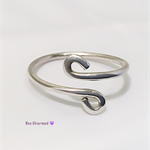 Sterling silver Celtic wrap ring