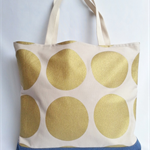 Gold Spot Tote Bag