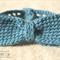 Fancy blue bowtie