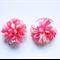 Piggy tail hair ties - Pink