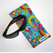 Padded Sunglasses Pouch in a bright floral fabric.