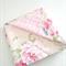 """Snuggie Blanket""  Vintage Floral rose"