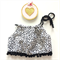 Black Leopard Crop Top - baby, girl, white, Luxe, birthday, Summer, dress