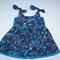 Baanbaan print,Baby girl's dress 3 - 6 months
