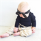 Black and Gold Topknot - girl, baby, wrap, hair, Luxe