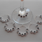 NOVELTY BOOK LOVERS WINE GLASS CHARMS x 6