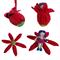 Designer Softie Child's Toy Surprise Flower Girl - Crochet Amigurumi  -Pure Wool