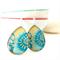Japanese Design /Resin  Earrings