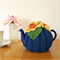 2 Cup Daffodil Tea Cosy with Blue Base