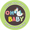 Personalised unisex oh baby baby shower favours stickers favour presents decor