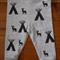 Tribal Leggings | Baby Girl Pants| Baby Boy Pants | Hand Stamped Leggings