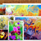 6 Fine Art Greeting Cards Blank Greeting Card Mothers day Birthday 12.5x17.5 cm