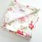 """Snuggie Blanket"" floral love hearts"
