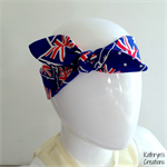 Australian Flag Head Scarf/Headband - to fit from approximately 6 months