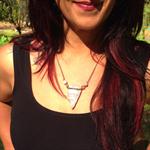 Raw white Jasper and Moonstone arrowhead necklace, Crown Chakra jewellery, Medit