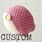 CUSTOM crochet beanie