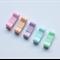 Pastel baby snap clip set