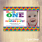 Colourful Rainbow Birthday Invitations. Photo Customised. Printable download.