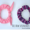 Set of 2, Bec Bow Scrunchies, Navy/Pink Pack