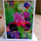 Fine Art Greeting Card, Abstract, Blank Greeting Card, Flowers, 12.5x17.5 cm