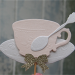 Tea Cup Cupcake Toppers ~ Mother's Day ~ Tea Parties