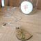 Laser Cut Wooden Bird Pendant Necklace, Painted Wooden Bird