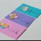Hand made Button Birthday / Celebration Cards Set of Three
