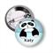 Personalised Name badge Panda