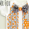 Mr Fox Baby Boy Bow Tie and Tuxedo Vest Onesie All Sizes Available
