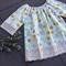Lace sleeve peasant dress 'he still loves me' sz 0 - 6