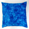 Cotton Cushion Cover - Blue Tye Dye Butterflies