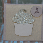 FREE POSTAGE #1 Mom Cupcake Gift Card ~ Mother's Day
