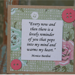 FREE POSTAGE ~ Card for Bestie ~ Original Verse ~ Mother's Day Card ~ Mum Card