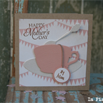 Vintage Inspired Tea Cup Gift Card for Mum ~ Mother's Day