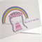 Mothers Day Card - Mum You are Amazing Rainbow. Free Post.