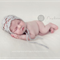 Unisex Mohair Bonnet / Grey / Newborn Photography Prop