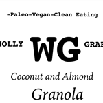Coconut & Almond Granola 300g- Fructose Free and Vegan Friendly