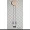 DribbleGems Geo Gem Silicone & Natural Unfinished Wood Teething Necklace