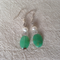 Sterling Silver Chrysophrase Earrings