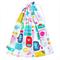Rainbow Sea Swim Bag / Waterproof Wet Bag. Pool or Beach Bag. Rainbow Colours.