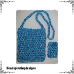 Crocheted ipad and iphone Cover (2 Pcs) Suitable for most smart phones