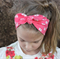 "Baby Turban Headwrap, coral headband, ""Isla"", baby headwrap, baby knot headband"