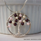 Mother's Day Swarovski Pearl Twisted Wire Tree Necklace – Blackberry Blossom