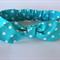 """Baby Headband, """"Stella"""", baby headwrap, baby knot headband, blue headband"""