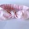 "Baby bow headband, baby girl headband, ""Bridget"", baby headband, pink and white"