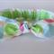 """Baby Headband, """"Bella"""", baby knot headband, white headband, blue, pink, green"""
