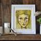 """Yellow Girl Print 10 x 8"""""""