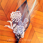 boutonniere groomsmen boutonniere blue boutonniere with bridal lace