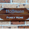 Family name home sign/plaque